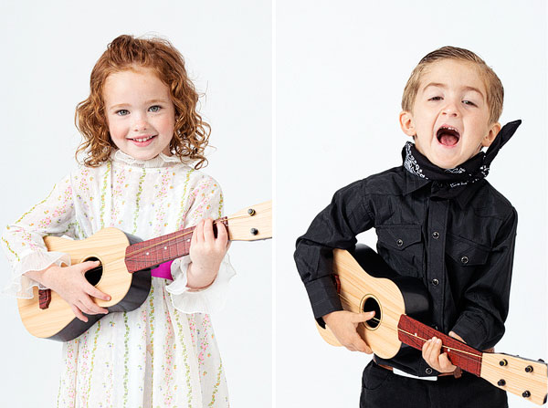 Little Musicians Costumes: June Carter & Johnny Cash | Oh Happy Day!