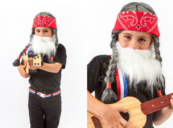 Little Musicians Costume: Willie Nelson (Oh Happy Day!)