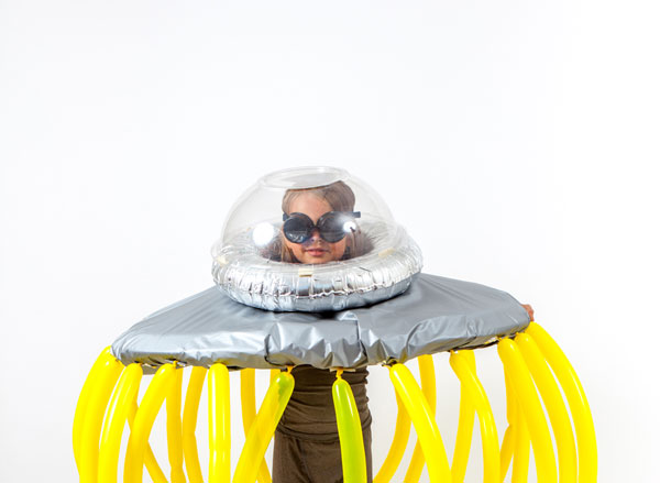 UFO Costume | Oh Happy Day!