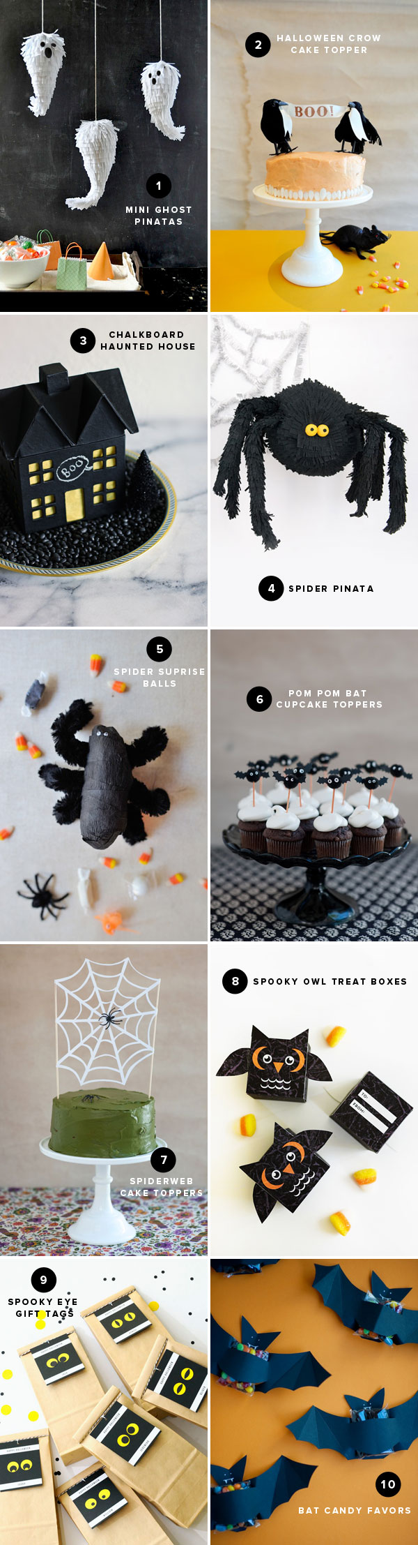 Halloween DIY Ideas | Oh Happy Day!