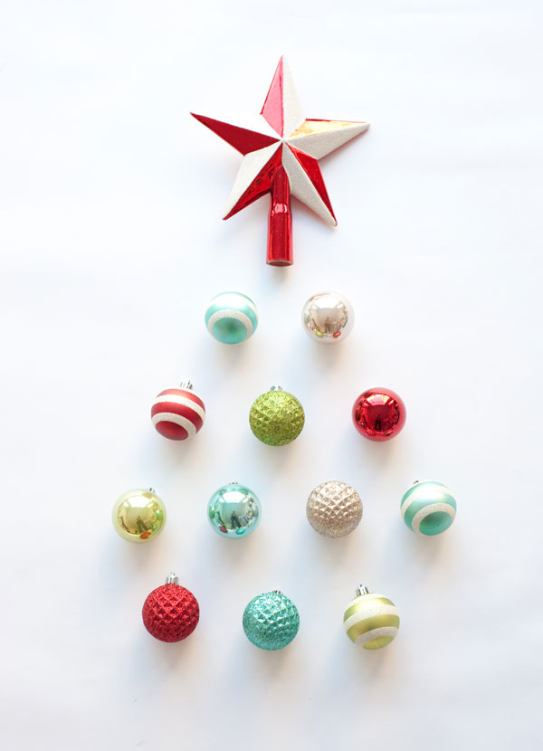 DIY Ornament Clusters   Oh Happy Day!