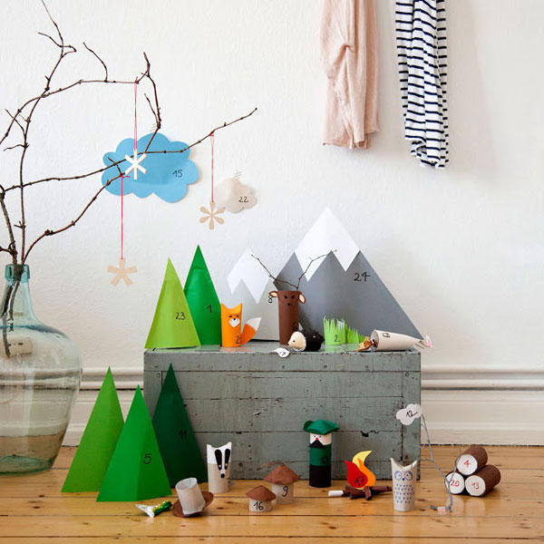 9 DIY Advent Calendar Ideas | Oh Happy Day!