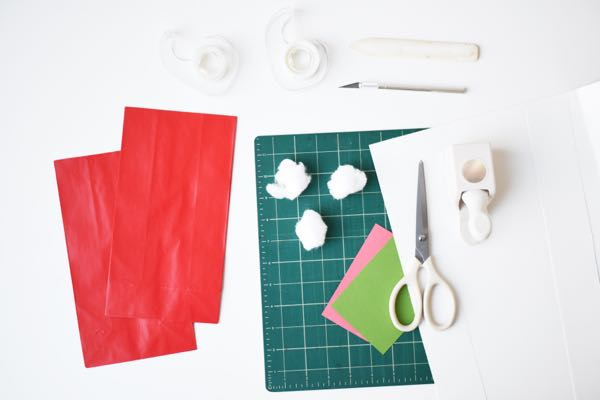 Santa Hat Bag DIY | Oh Happy Day!