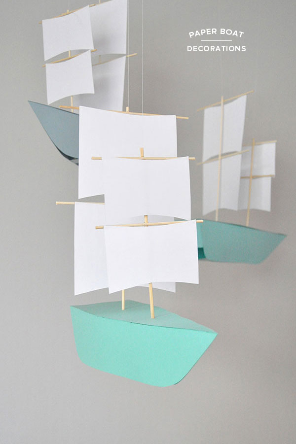 How To Make A Paper Mayflower Boat