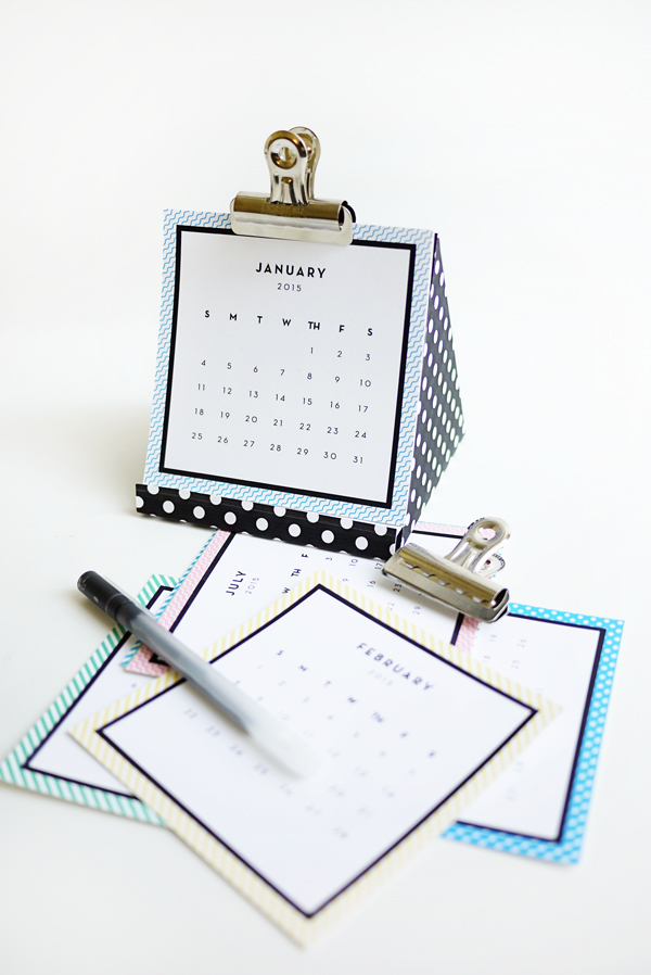 Printable 2015 Calendar | Oh Happy Day!