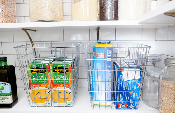 6 Tips for Open Shelf Organization   Oh Happy Day!