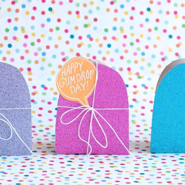 Gumdrop Treat Boxes DIY | Oh Happy Day!