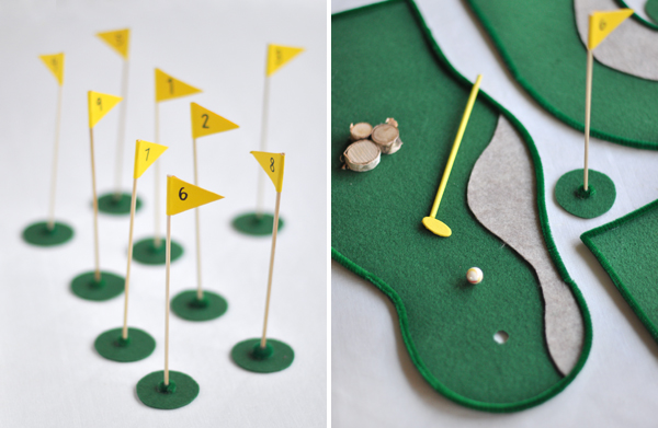 Tabletop Mini Golf | Oh Happy Day!