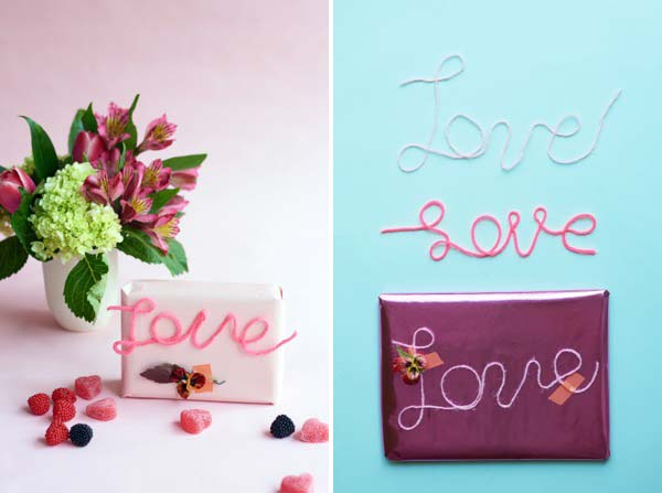 String Words Wall-Hanging DIY | Oh Happy Day!