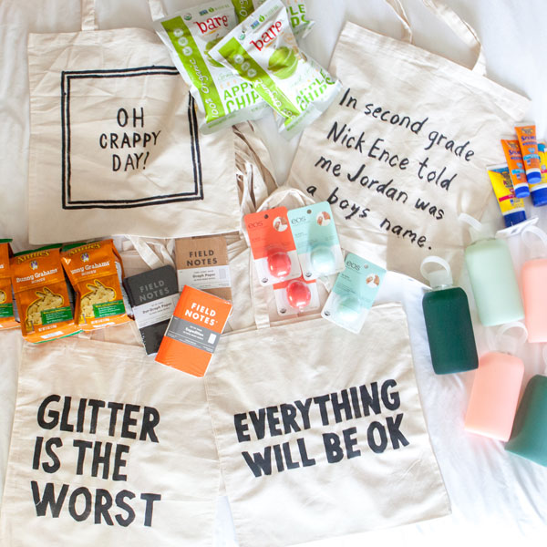 Easy Guest Gift Bags | Oh Happy Day!