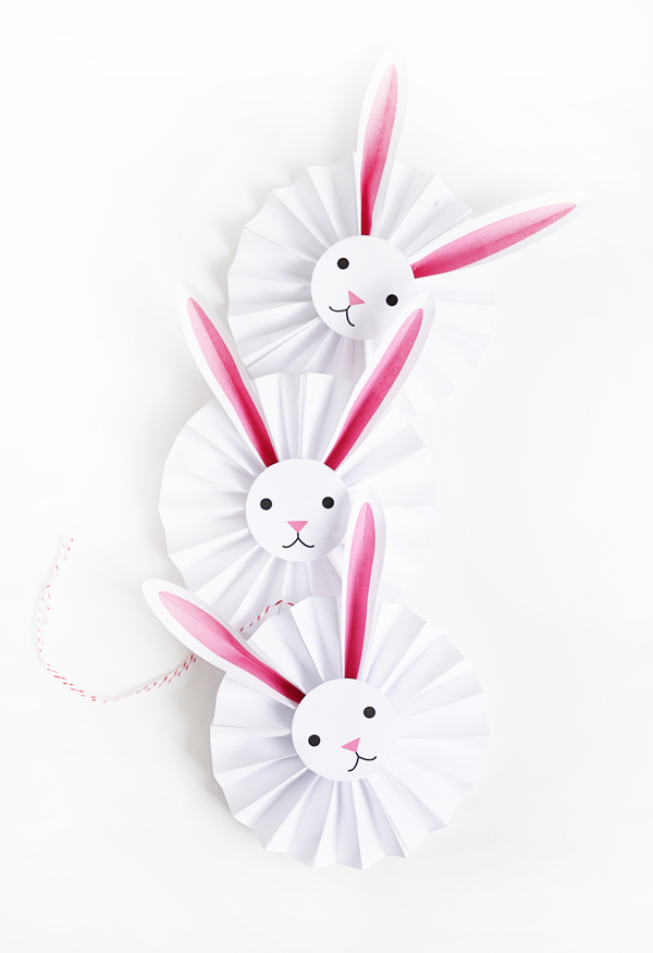 Printable Bunny Rosettes | Oh Happy Day!