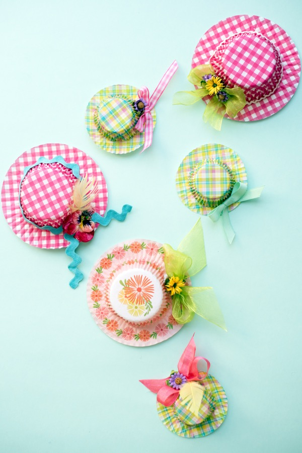 Easter Hat Favors Diy