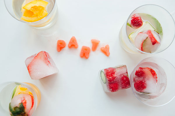 Infused Ice Cubes + Soma   Oh Happy Day!