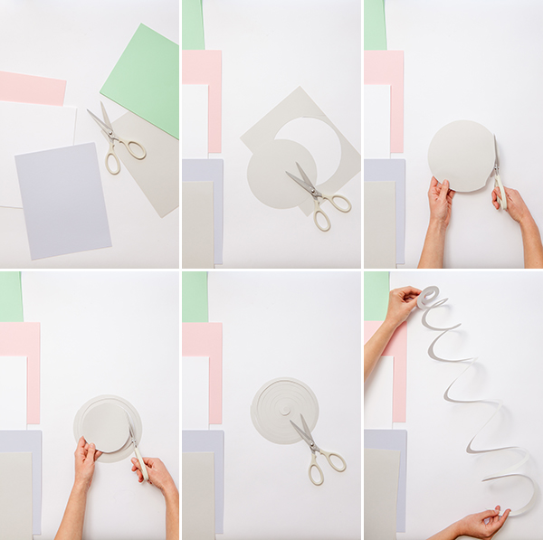 Five Feet Apart Julie: Spiral Mobiles DIY