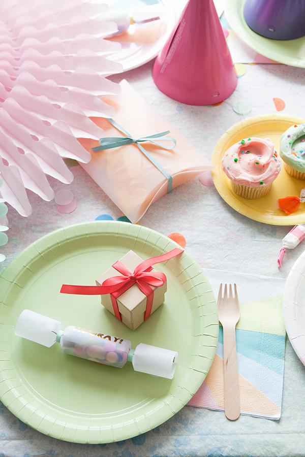 Watercolor Tablecloth DIY   Oh Happy Day!
