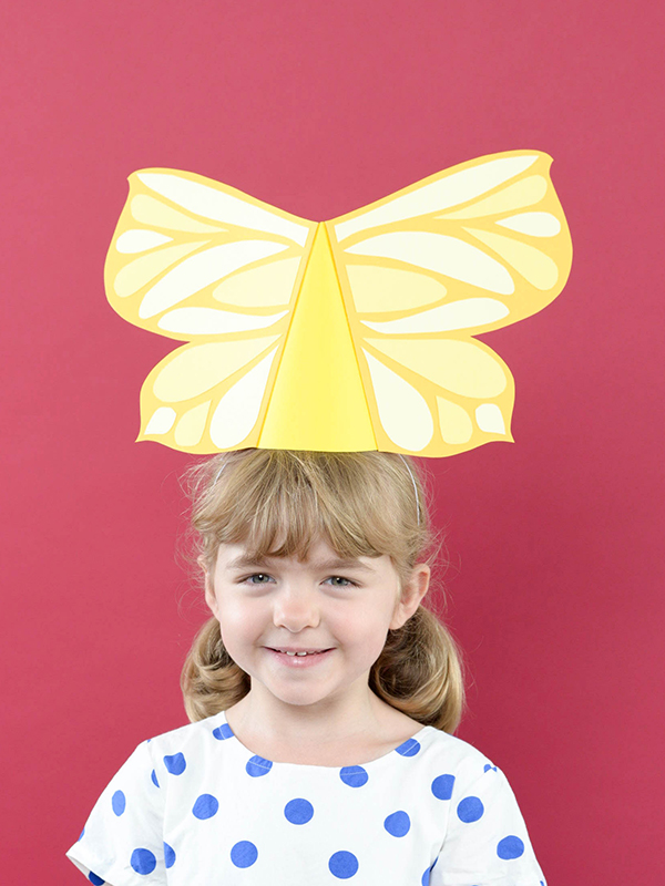 Butterfly Party Hats | Oh Happy Day!