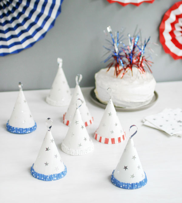 4th of July Treat Cones | Oh Happy Day!