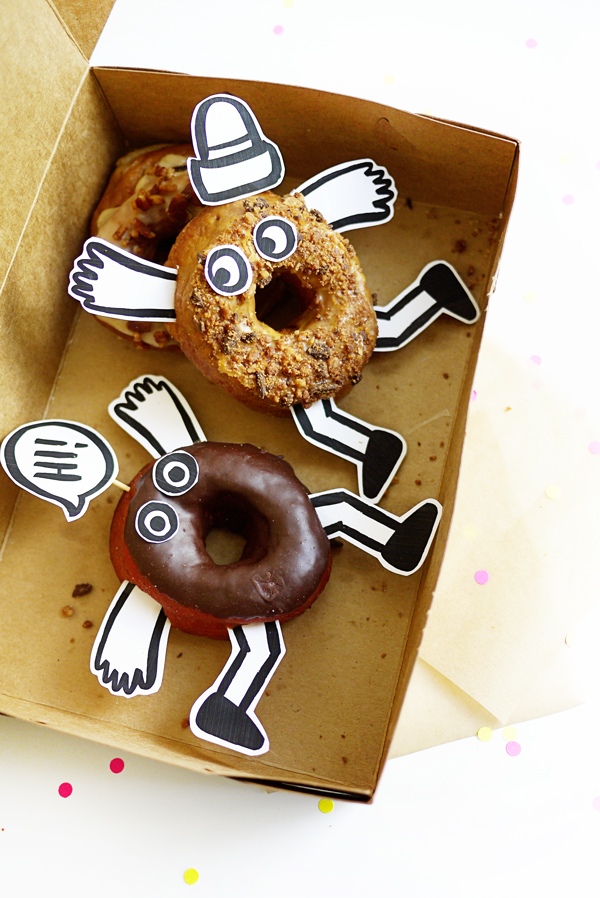 Printable Donut Buddies | Oh Happy Day!