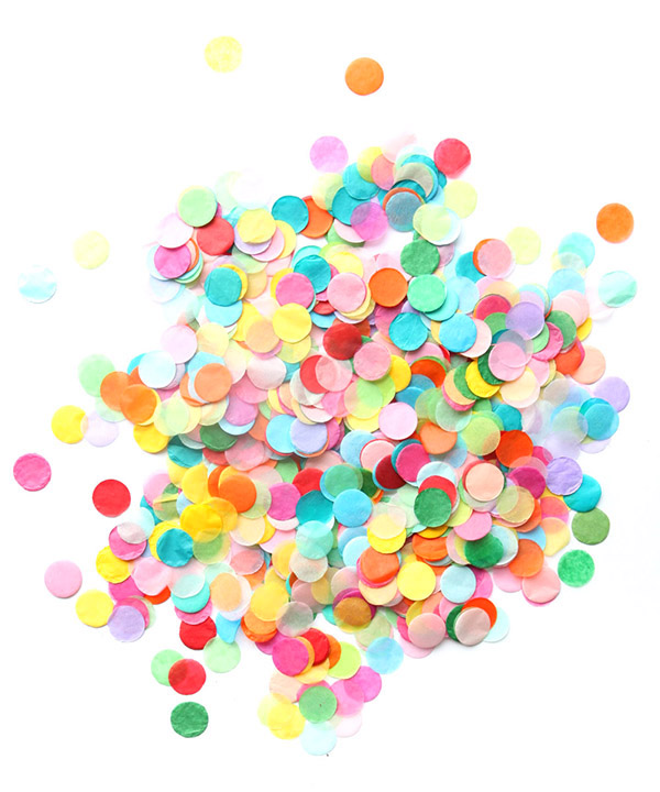 Best Confetti Ever | Oh Happy Day!