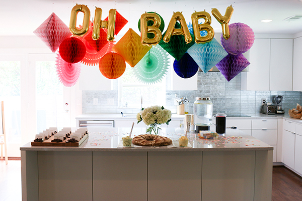 Rainbow Baby Shower | Oh Happy Day!