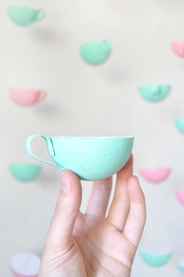 Teacup Garland | Oh Happy Day!