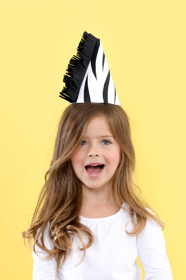 Zebra Party Hat | Oh Happy Day!