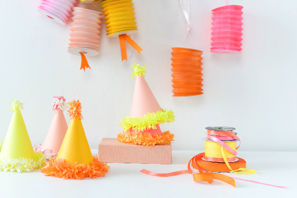 Fringe Party Hats | Oh Happy Day!