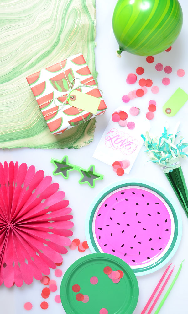 Watermelon Party Supplies | Oh Happy Day!