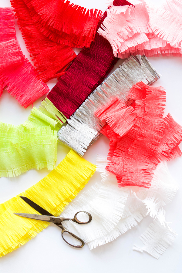 Basic Fringe Garlands | Oh Happy Day!