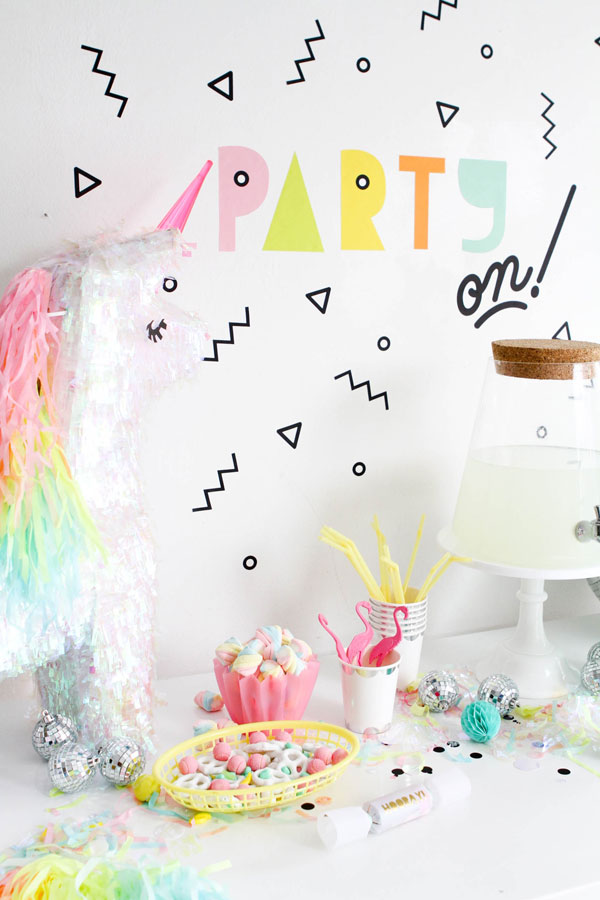 Party Wall Decals | Oh Happy Day!