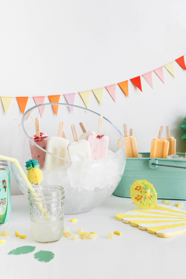 Tropicolada Popsicle Party | Oh Happy Day!