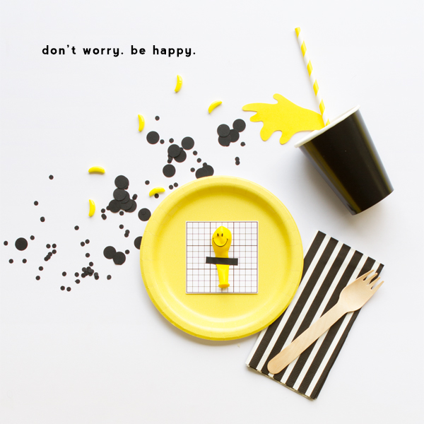 Mini Smiley Balloon Favors | Oh Happy Day!