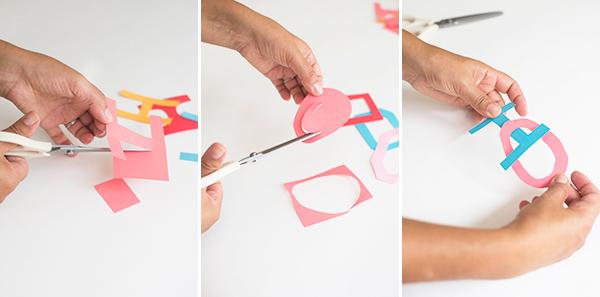 Interlocking Garland DIY | Oh Happy Da
