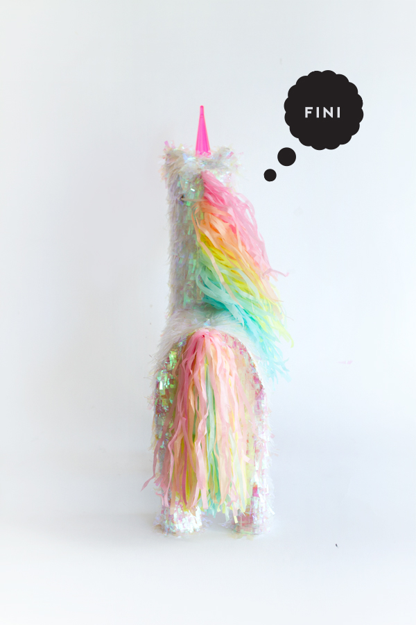 Unicorn Pinata Makeover | Oh Happy Day!