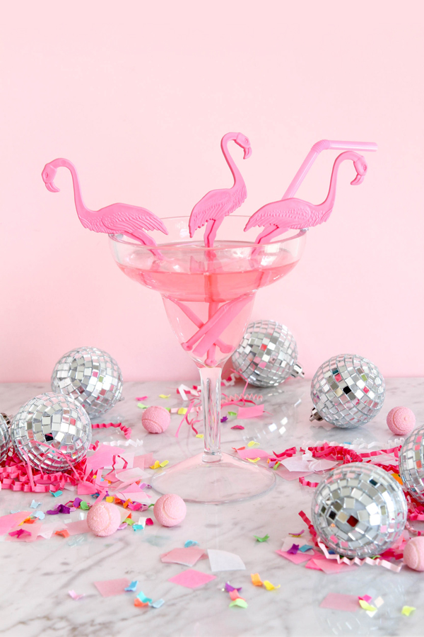 Flamingo Swizzle Sticks | Oh Happy Day!