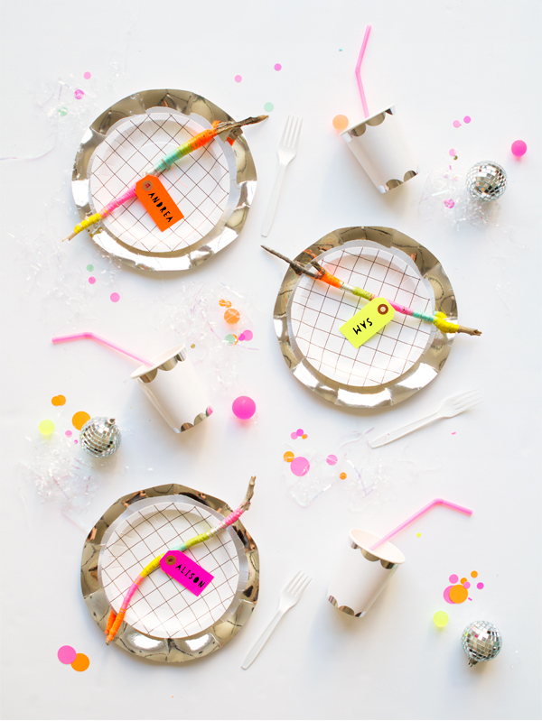 Twiggy Party Placecards | Oh Happy Day