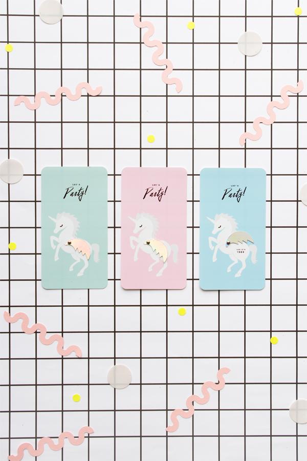 Unicorn Invitation Printable   Oh Happy Day!