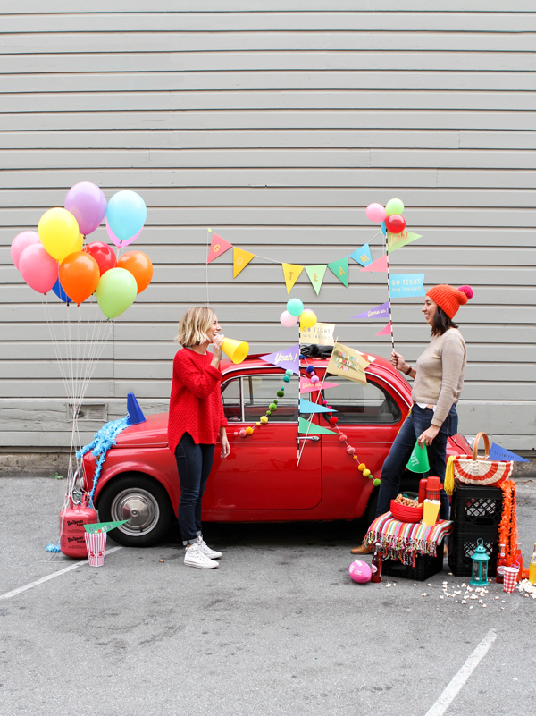 How to Host a Tailgate Party   Oh Happy Day!