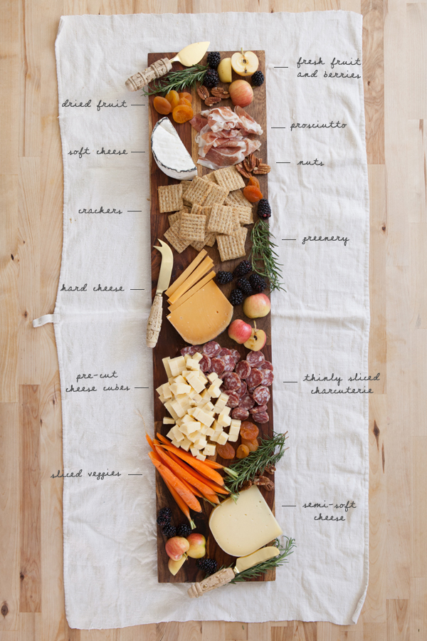 Cheese Plate 101 | Oh Happy Day!