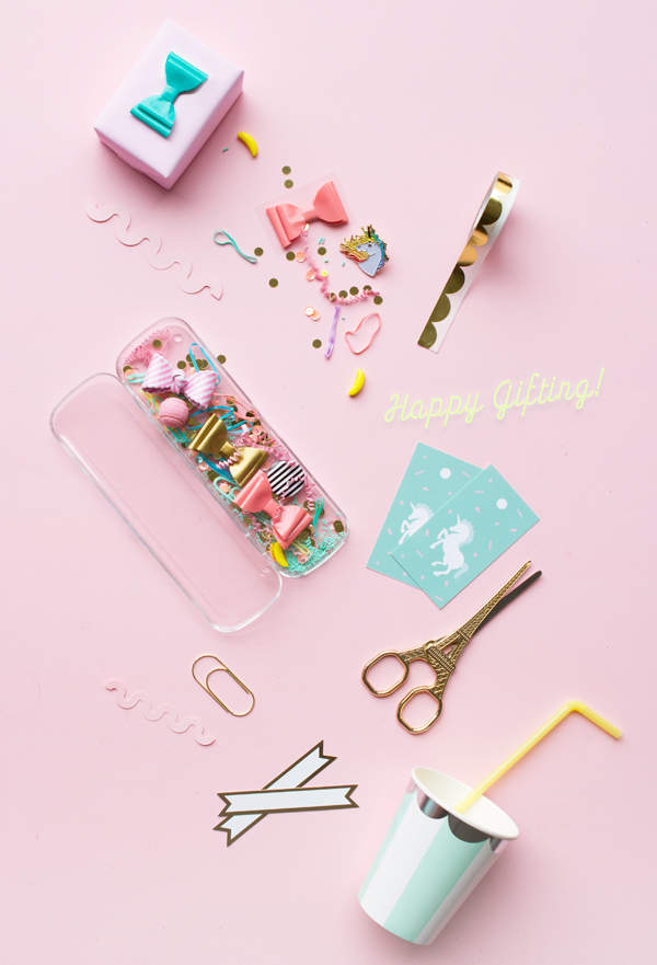 Unicorn Gift Tags Free Printable | Oh Happy Day!