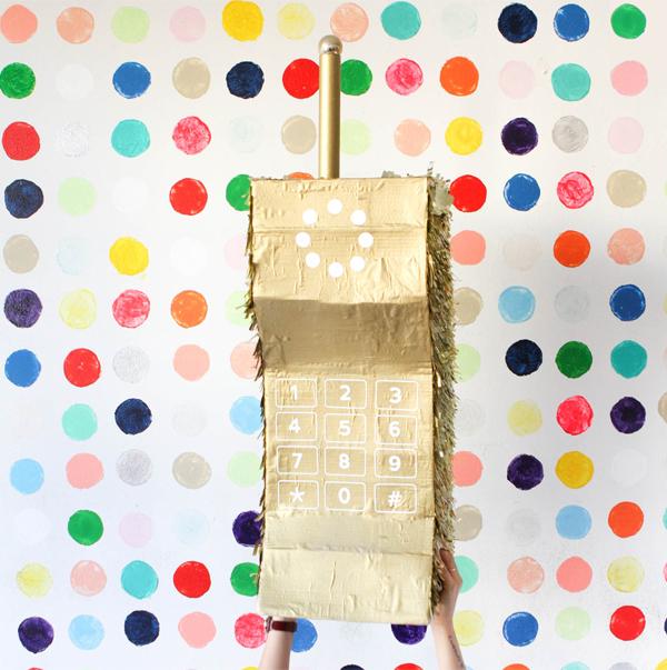 DIY Cell Phone Pinata | Oh Happy Day!
