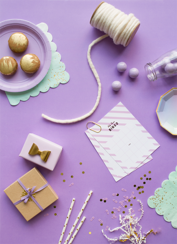 A Simple Lavender Baby Shower   Oh Happy Day!