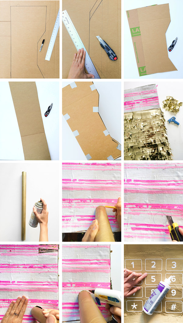 DIY Cell Phone Piñata | Oh Happy Day!