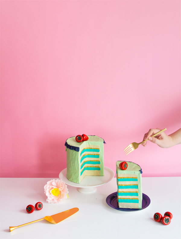 Papier Mache Cakes | Oh Happy Day!