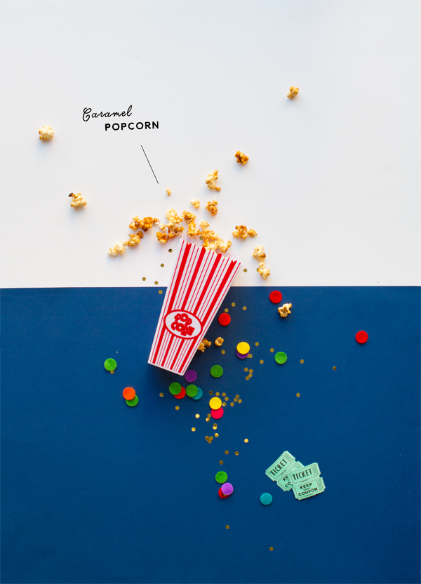 Microwave Caramel Popcorn | Oh Happy Day!
