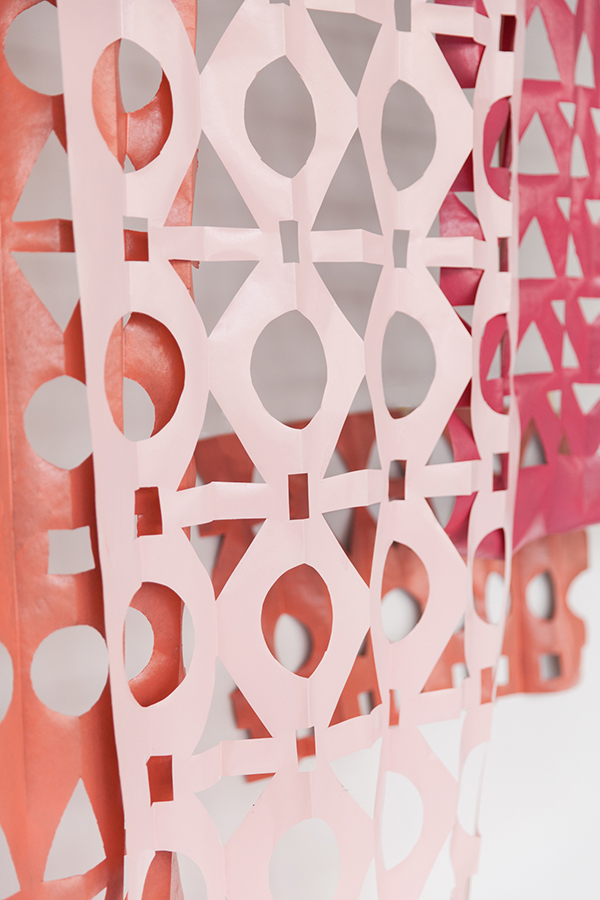 Modern Papercut Backdrop DIY | Oh Happy Day!