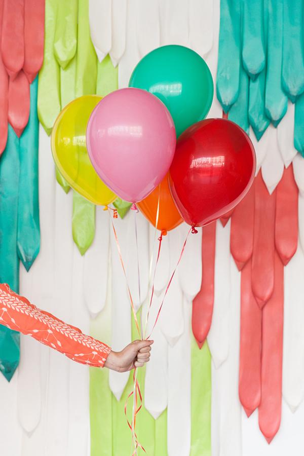 Paper Drape Backdrop DIY | Oh Happy Day!