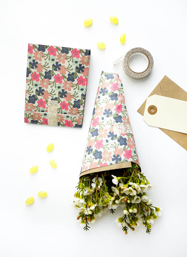 Printable Bags & Flower Wraps | Oh Happy Day!