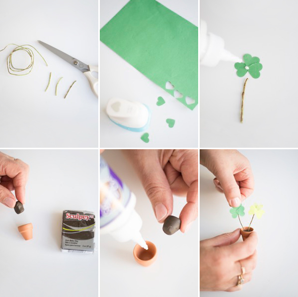 Miniature Shamrock Mailer DIY | Oh Happy Day!