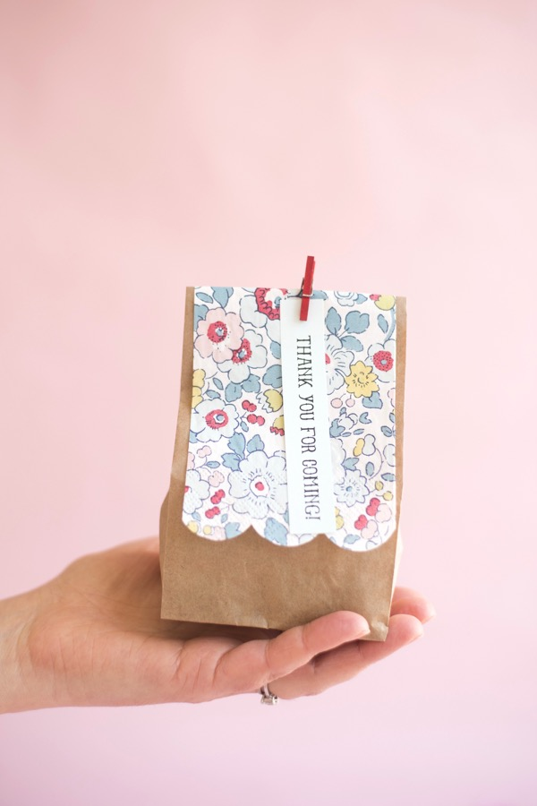 Liberty of London Favor Bags DIY | Oh Happy Day!